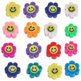 Katsuki kralen Smiley flower Multicolour