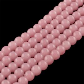 Glass beads imi jade salmon 6mm