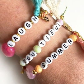 Inspiratie armbandjes 'message'