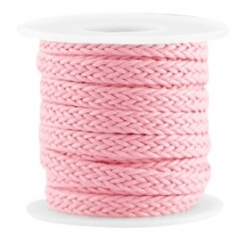 Braided wachsband pink