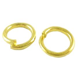 Biegeringe gold 6mm