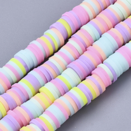 Katsuki kralen 6mm pastel mix
