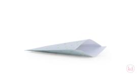 Taschen dot powder blue 12x19cm