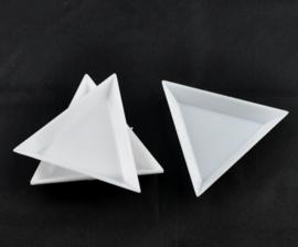 Tray Dreieck weiss