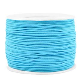 Gekleurd elastisch draad 1.2mm Light blue
