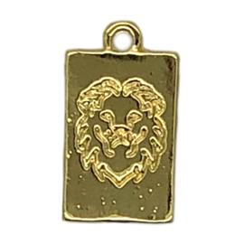Bedel tag lion goud