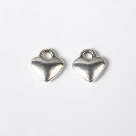 Bedel hartje small zilver (bulk)