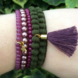 Inspiratieset 'purple pompon'