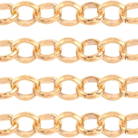 Jasseron 4.8mm light rose gold