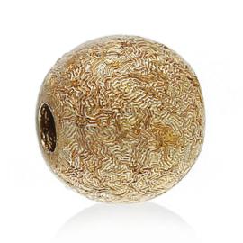 Acryl perlen glitter gold