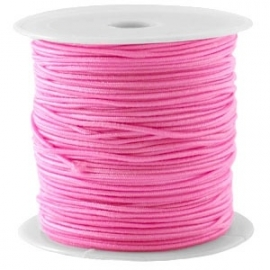 Elastiek roze 1mm