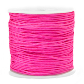 Macramé draad 1.5mm Azalea pink