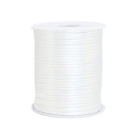Satijn draad 1.5mm White