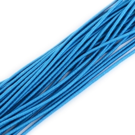 Elastiek blauw 2mm