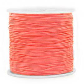 Macramé draad 0.8mm coral red