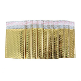 Luchtkussen envelop metallic goud 25x15cm