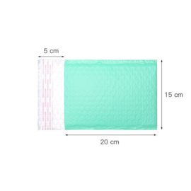 Luchtkussen envelop mint 25x15cm