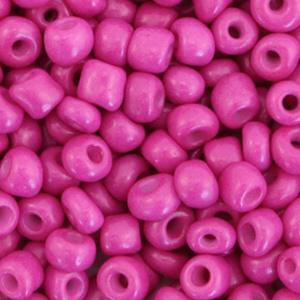 Rocailles 4mm Cerise pink