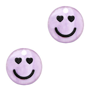Plexx bedels smiley hearts Shiny lilac purple