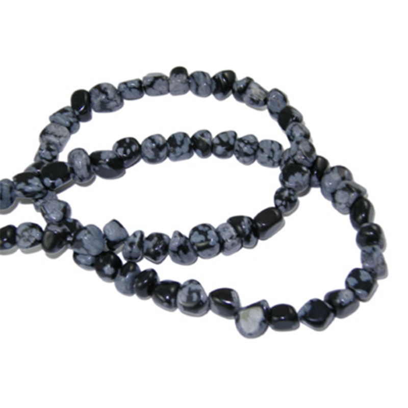 Chip stone snowflake obsidian 3-5mm