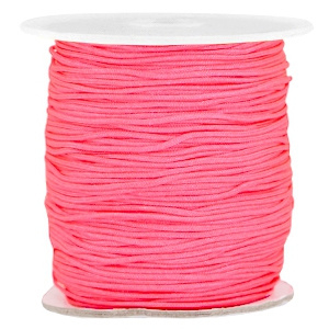 Macramé 1.0mm bright pink (neon)