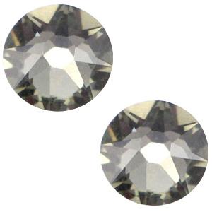 Swarovski Elements 2088-SS34 flatback Xirius Rose Black diamond