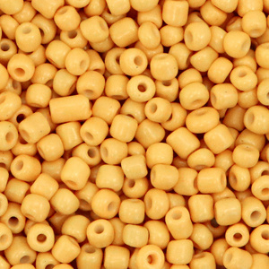 Rocailles 3mm Daffodil yellow