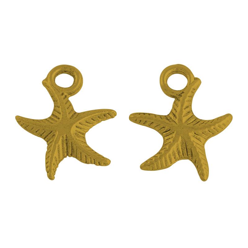 Bedel zeester klein goud