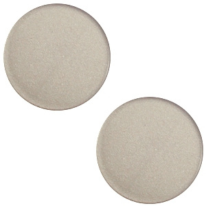 Cabochon super polaris dusty grey 12mm