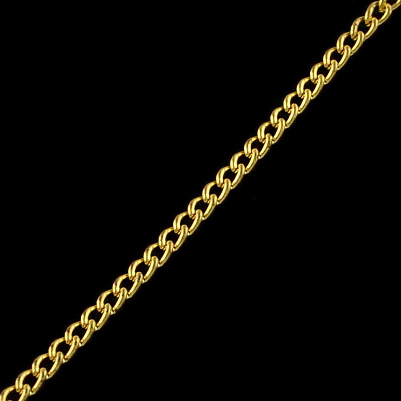 Jasseron goud 3.3x2.1mm
