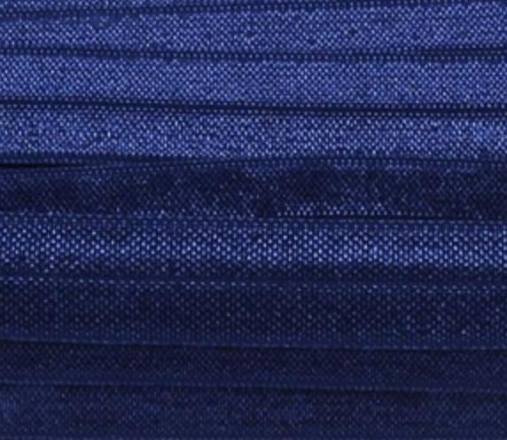 Elastiek night blue 15mm