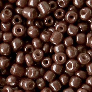 Rocailles 4mm Chocolate brown