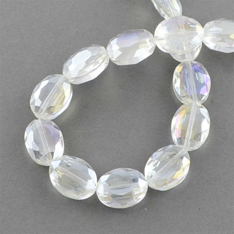 Glaskraal electroplated crystal 16mm