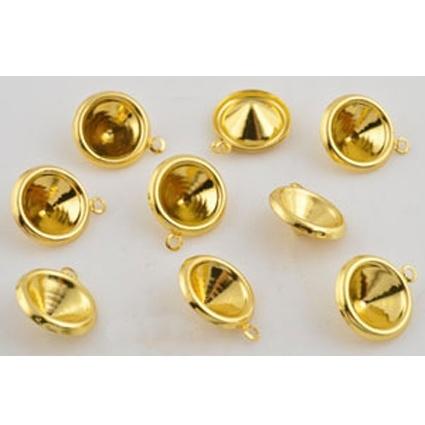 Puntsteen setting goud basic