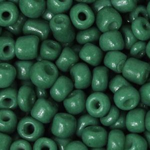 Rocailles 4mm Traffic green