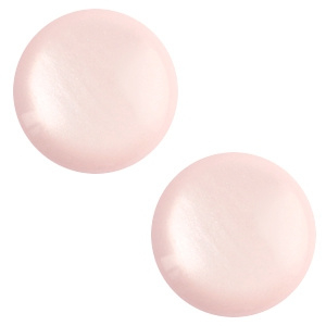 Cabochon polaris soft tone shiny soft light rose 12mm
