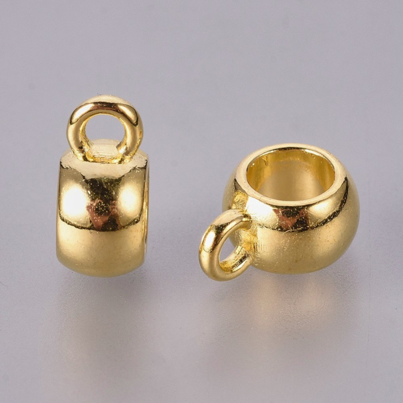 Bail 8x5mm goud