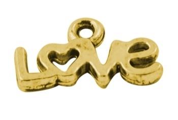 Bedel 'love' goud