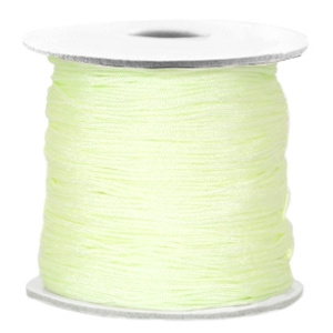 Macramé 0.7mm light citrine green