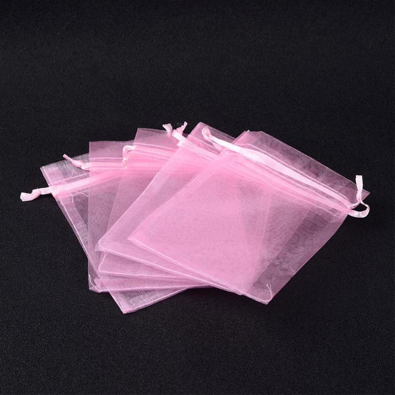 Organza rosa