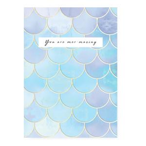 "Sieraden kaartjes ""You are mer-mazing"" Blue"