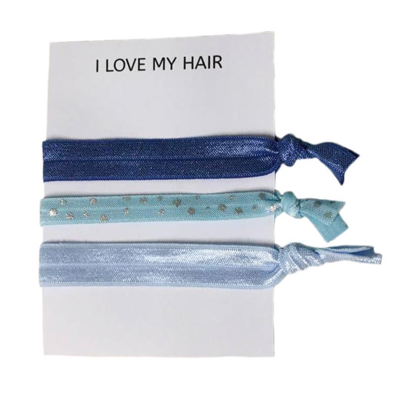 Ibiza elastiekjes blue