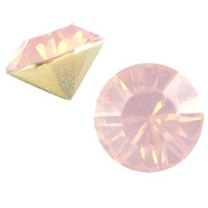 Puntsteen SS39 light peach opal (BQ)