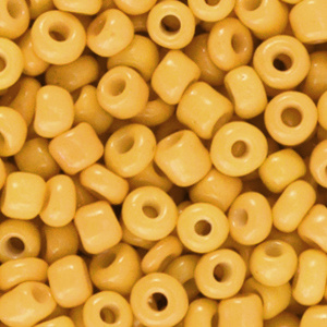 Rocailles 4mm Spectra yellow