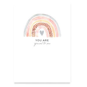 "Sieraden kaartjes ""You are special"" Wit"