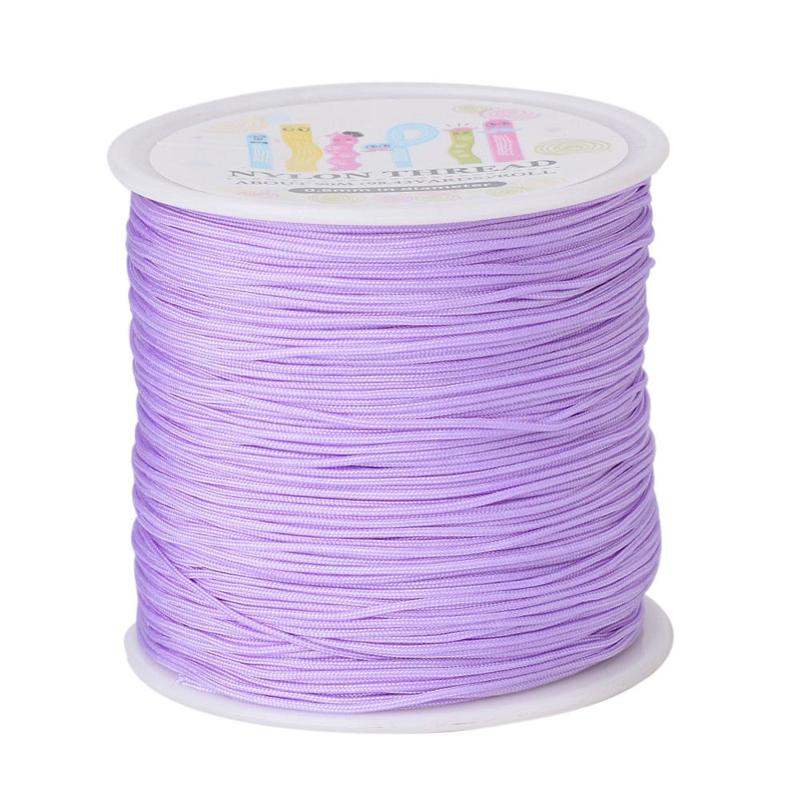 Macramé draad 0.8mm lilac