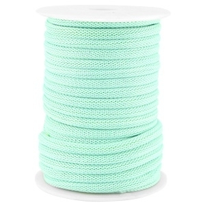 Dreamz koord 5mm Turquoise mint green