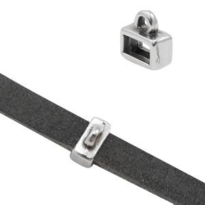 Schuivers met oog Ø5.1x2.1mm zilver (DQ)