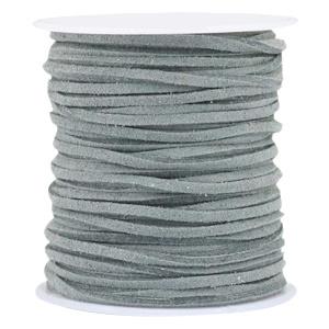 Imi suède 3mm granite grey