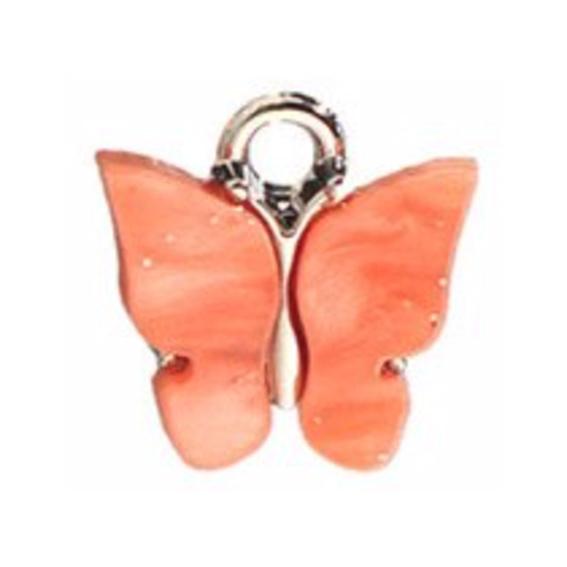 Bedel vlinder coral zilver